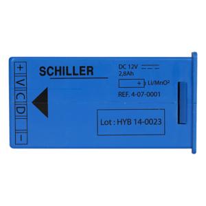Batterij voor de Schiller FRED easy Life AED