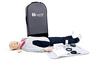 Resusci Anne QCPR, Full Body, Luchtweghoofd, trolley koffer