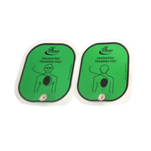 Trainingselektroden voor de Life-Point AED-trainer