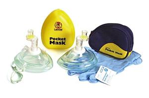 Maska do resuscytacji LAERDAL POCKET MASK w czarnym etui